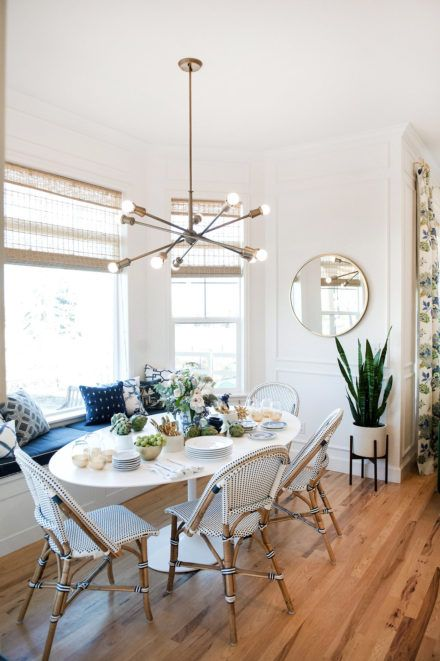 One Room Challenge Fall 2016 Reveal- gorgeous dining nook in kitchen