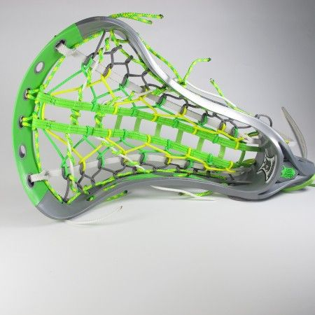"""#LacrosseUnlimited Featured Womens Limited Edition Dynasty Elite """"Mellow Lime"""" Complete Head. #girls #lax #alwaysCustom #lime"""
