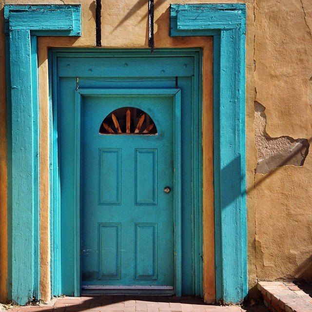 Images about blue doors of new mexico on pinterest