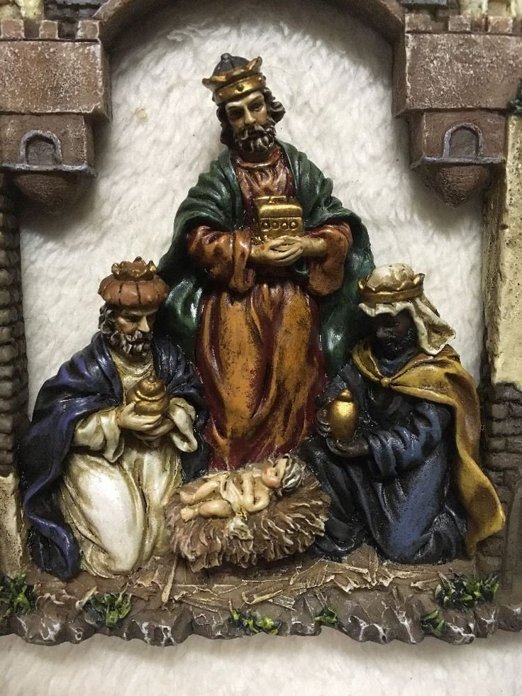 592 Best Images About Nativity Figures Three Wise Men