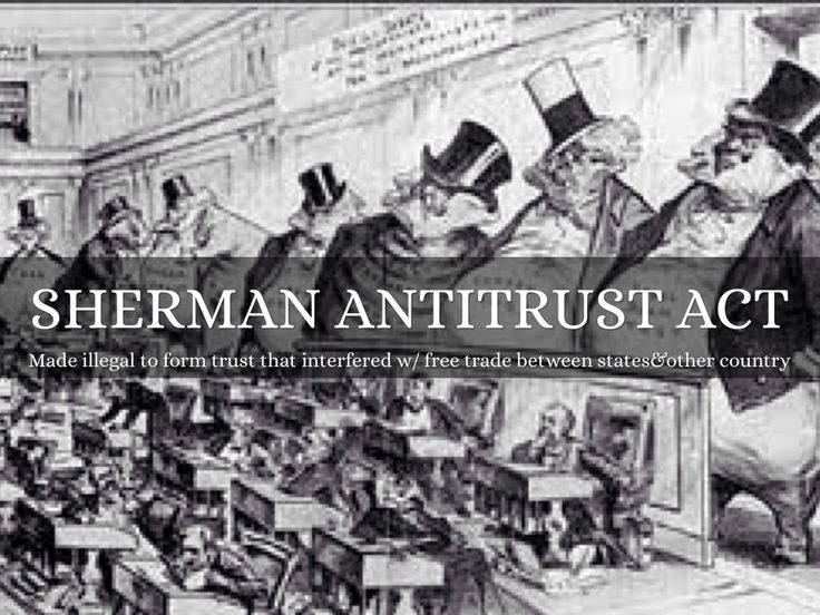 sherman anti trust act violated by microsoft Both § 1 and § 2 of the sherman act prohibit anticompetitive ex-  18 253 f3d  34, 64-67 (dc cir 2001) (finding antitrust violations in microsoft's decision to.