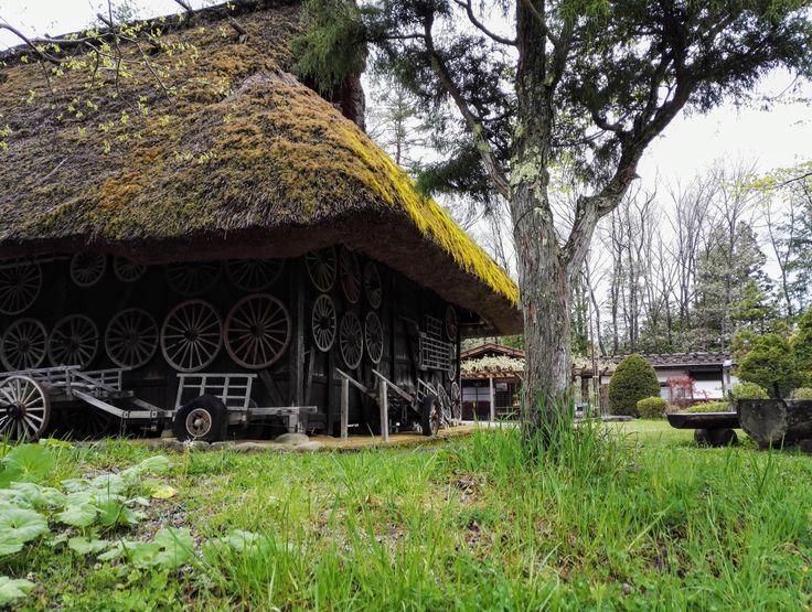 Una casa tradizionale della regione Hida - (presso Hida Folk Village)