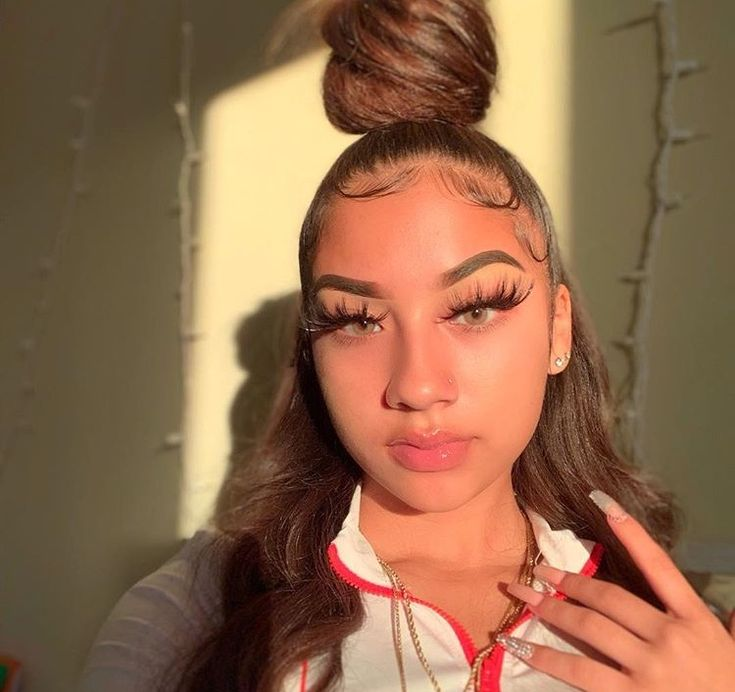 Pin By Н��𝖆𝖊🥀 On Aesthetic Mixed Girl Hairstyles Baddie