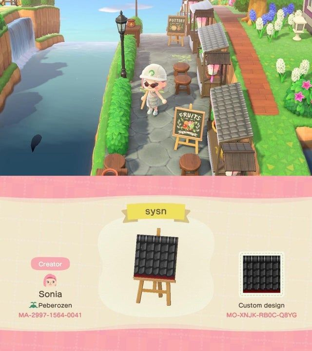 A Stall Design For A Spirited Away Inspired Market Place Acqr In 2020 Animal Crossing Animal Crossing Memes Animal Crossing Guide
