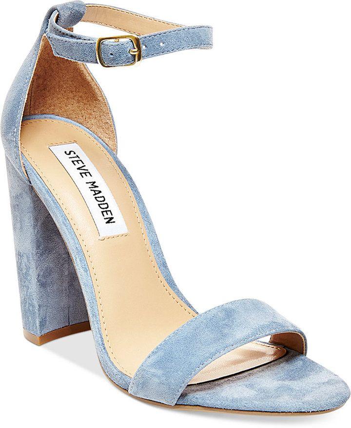 Steve Madden Steve Madden Women's Carrson Ankle-Strap Dress Sandals - $99.00