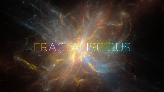 Exploring animated fractal images in After Effects.