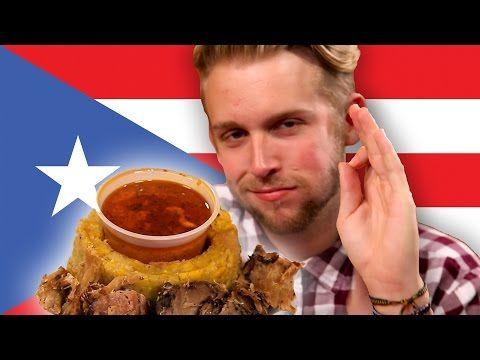 People Taste Test Puerto Rican Food via Buzz Feed