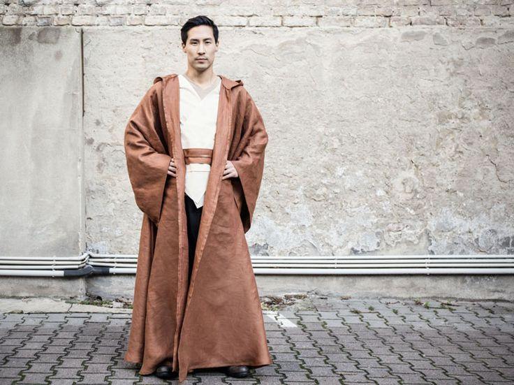 #Tutoriel DIY: #StarWars : coudre une bure de Jedi via DaWanda.com #couture