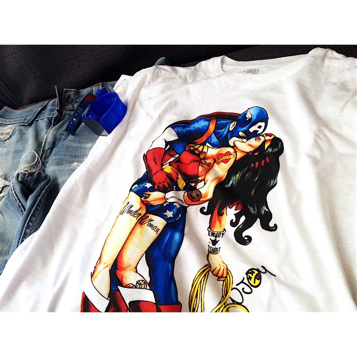 #EnjoyTshirt #outfit #comics #SuperEroi