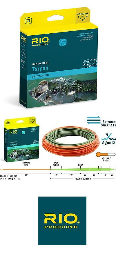 Fly Line Leaders and Tippets 23817: New Rio Tarpon Technical Wf-12-F #12 Weight Floating Tropical Saltwater Fly Line -> BUY IT NOW ONLY: $89.95 on eBay!
