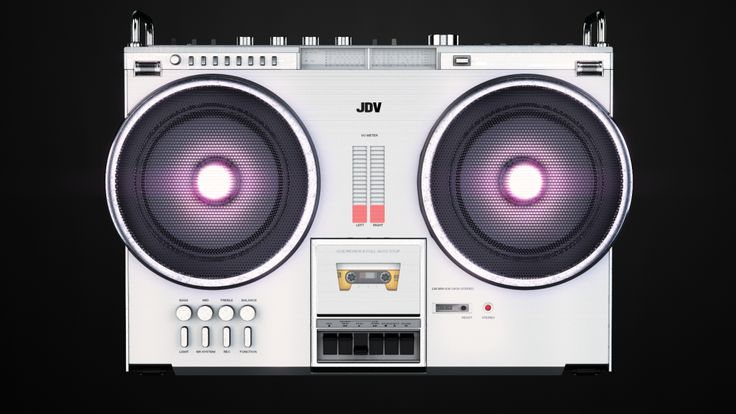 JDV Boombox | Animation Project | Client: Metron Music