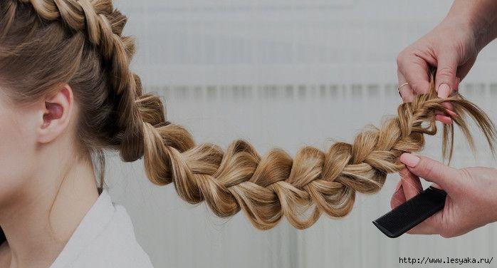 Как плести красивые и модные косы - 5 вариантов » Женский Мир