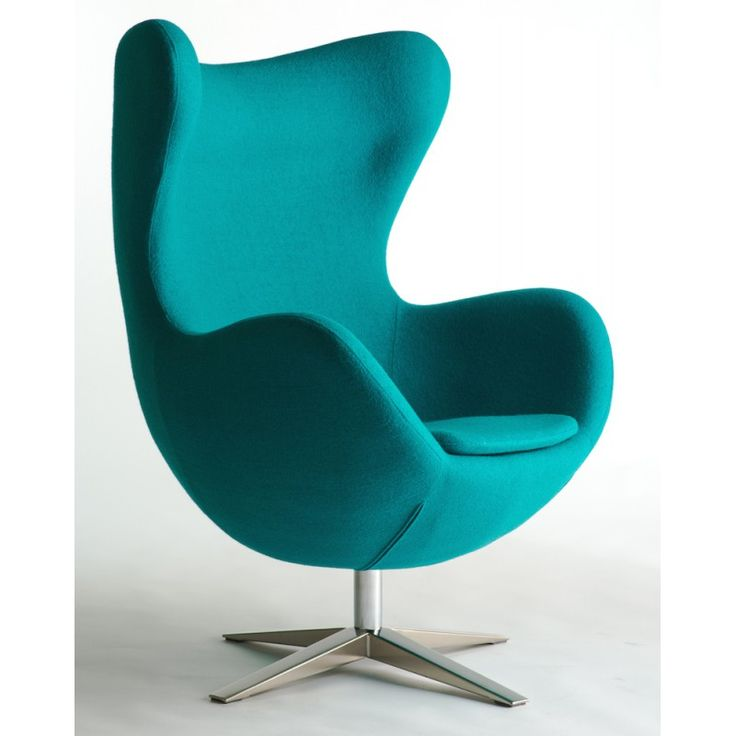 Mooie vorm fauteuil / op draaipoot - Affordable design chairs