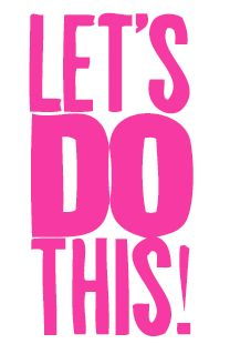 Let's do this, inspirational poster, art, office, work. Brought to you by Shoplet.com - Everything for your business.