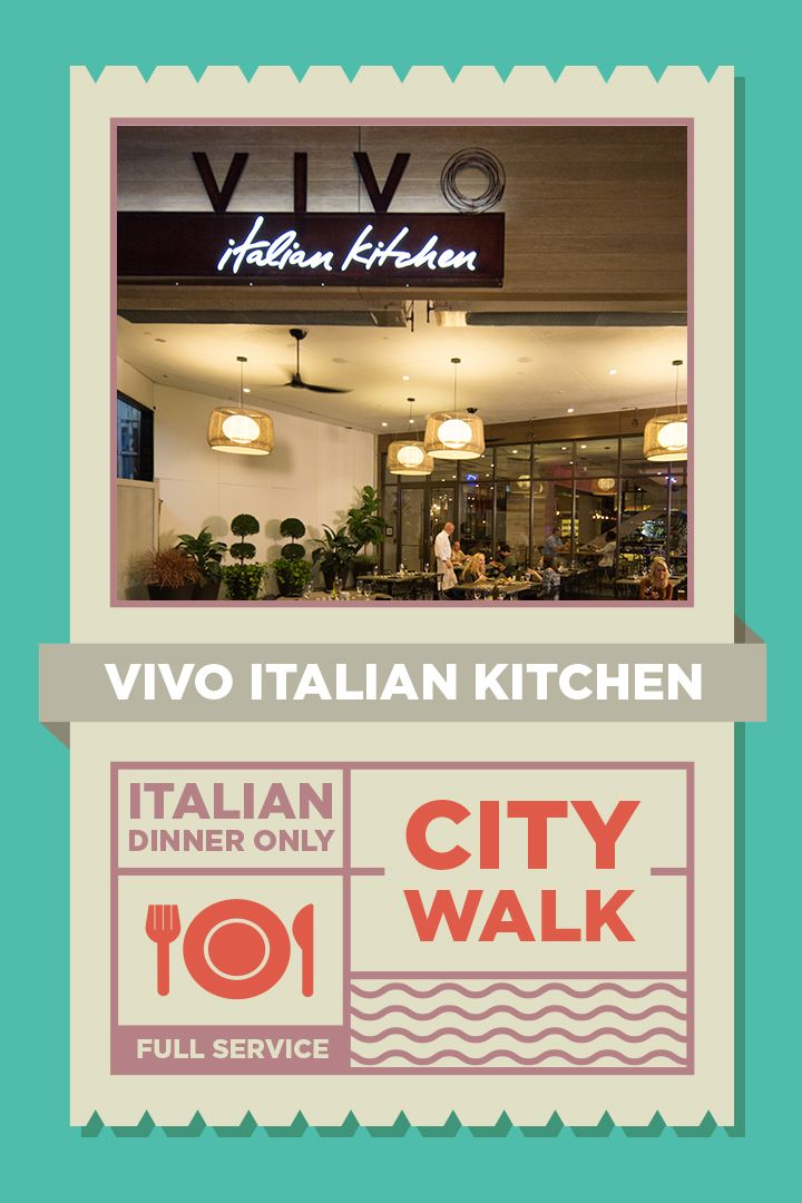 17 best images about universal citywalk on pinterest for Vivo italian kitchen