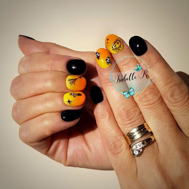 Halloween SNS Nails | Product details: #394 , #65 & #GW05 ...