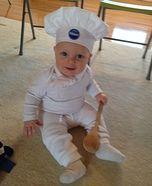 DIY baby costume ideas: Pillsbury Dough Boy Homemade Costume
