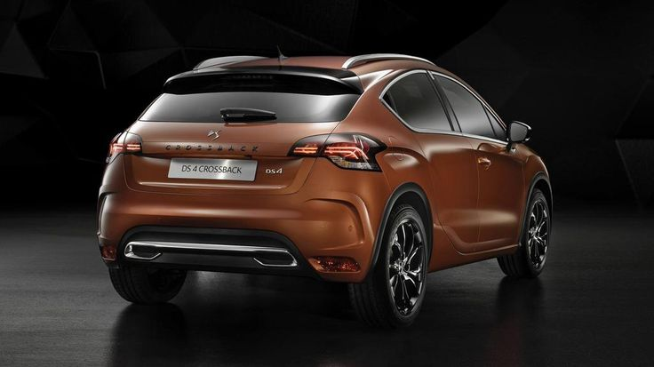 New Citroen DS4 no longer wears Citroen badges, but gets new engines and a 'Crossback' version