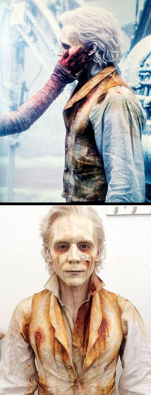 Tom Hiddleston as the ghost of  Sir Thomas Sharpe in 'Crimson Peak' (2015). Costume Designer: Kate Hawley