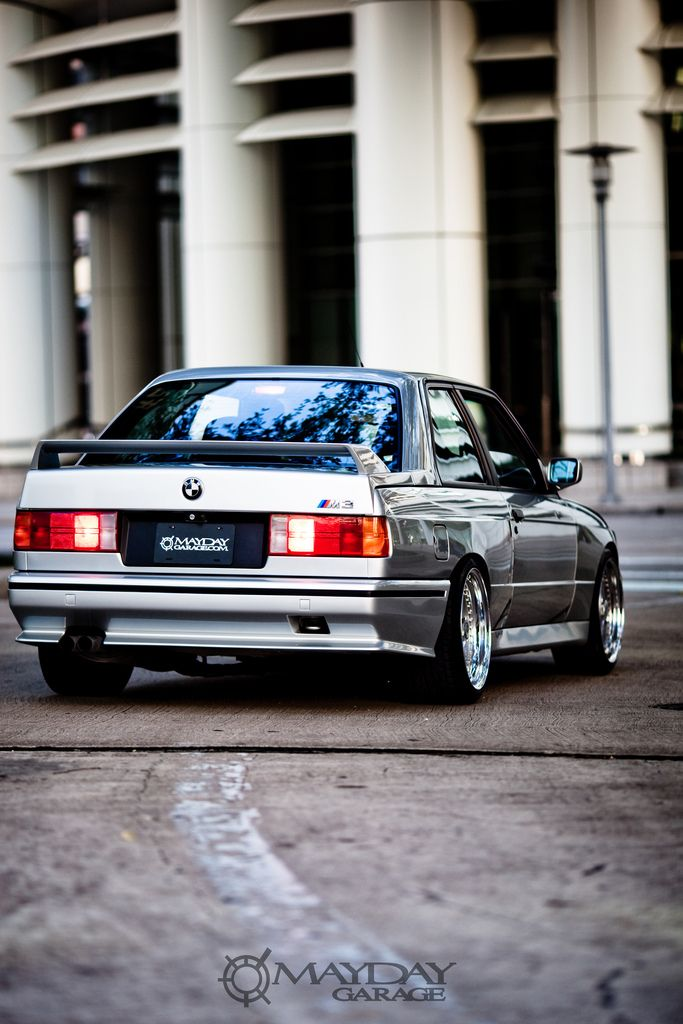 Classic BMW E30 M3 on vintage HRE 506.