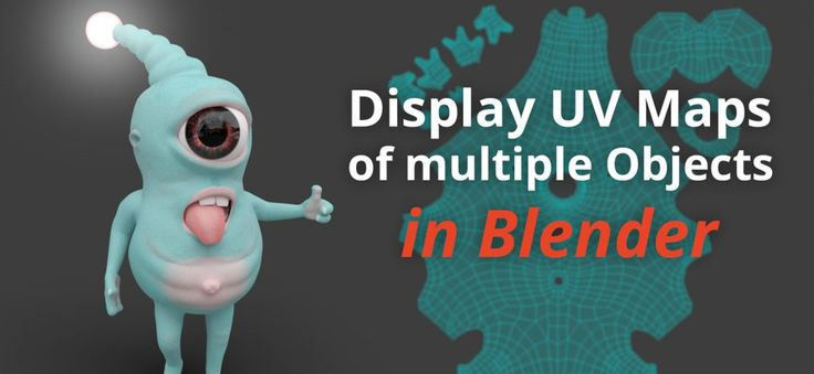 Tutorial: Display UV Maps of multiple Objects