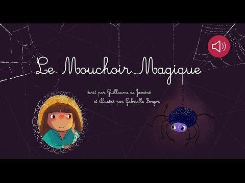 Histoire pour enfants - Le Mouchoir magique - Livre animé et audio - YouTube
