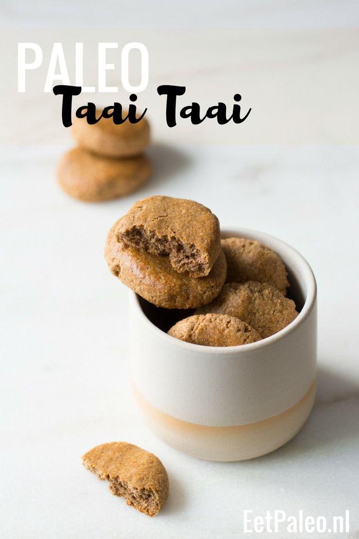 Paleo Taai Taai – Glutenvrije Sinterklaas traktatie!