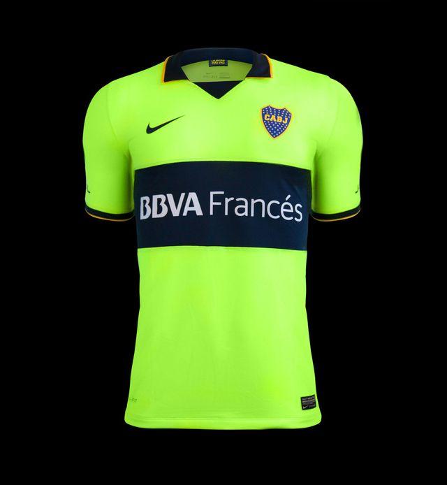 Terceira camisa do Boca Juniors 2014 Nike 3