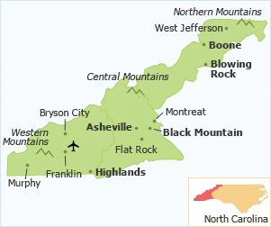 NC mountains area