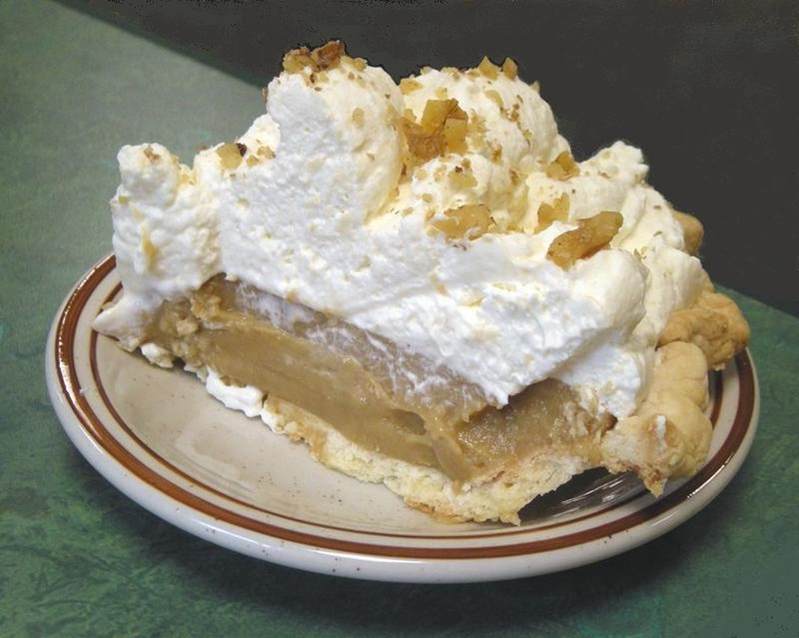 BROWN SUGAR CREAM PIE - nothing like it this side of the Pearly Gates . . . if you like brown sugar!