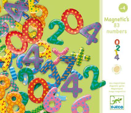 38 Numbers - magneetit