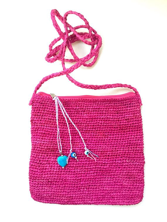 Straw bag straw cross body bag small bag straw pouch