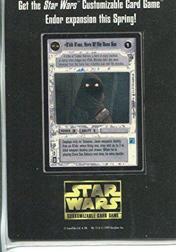 Star Wars CCG Promo Mini Card Rkik Dnec HOTDS Unpunched RARE @ niftywarehouse.com #NiftyWarehouse #Geek #Products #StarWars #Movies #Film