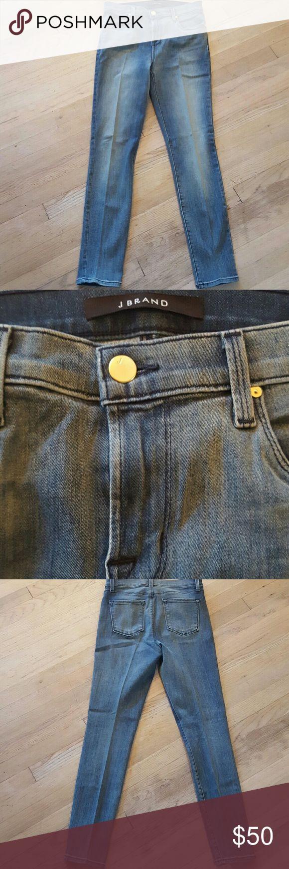 New withot tags Jbrand Skinny Jeans Light Wash und Light Denim Skinny Jeans mit …   – My Posh Picks