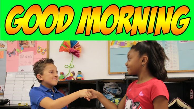 "Good Morning - Good Morning Song for Circle Time - Children's Songs by The Learning Station Set the pace for a positive day by greeting your friends with a friendly wave and hand shake. Your children will learn the FUN moves to the HIT song, ""Good Morning"". This movement song is great for circle time, group activities, brain breaks or those bad weather days when children can't go outside to play. It is ideal for preschool and kindergarten children."