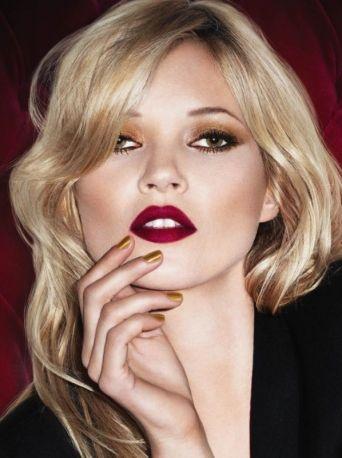 Kate Moss. L'adv di Lasting Finish Lipstick di Rimmel