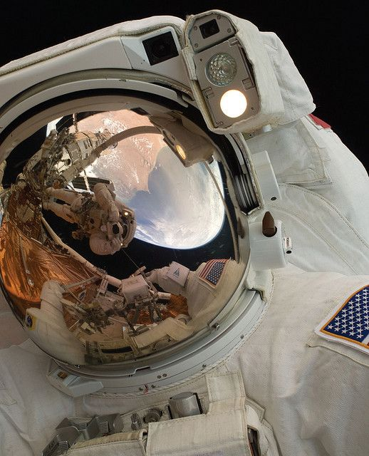 Spacewalking Astronaut John Grunsfeld by NASA Goddard Photo and Video, via Flickr