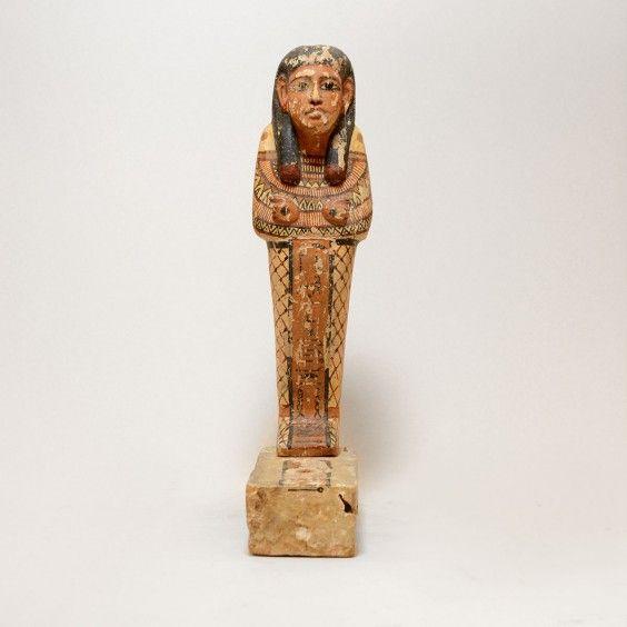 4: Statue of Osiris