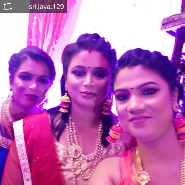 3 gorgeous ladies in their #ethnic avataar  #wedding bells #desi #joy #happiness #family