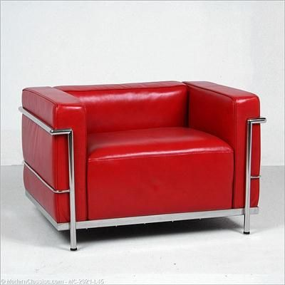 Le Corbusier- LC3 Grand Lounge Chair