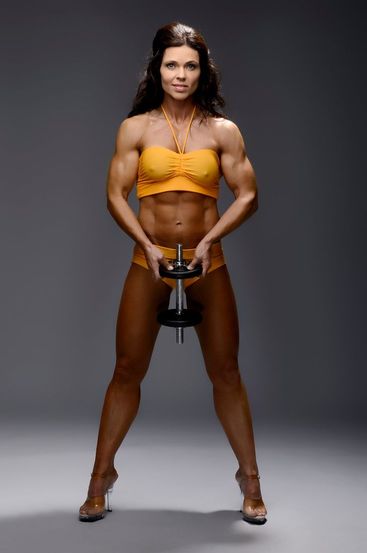 Nude lady body builders — 5