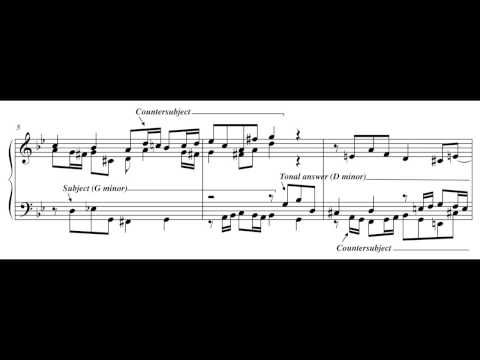 analysis of bach fugue in d Assignment using the analytical questions above, go through j s bach's fugue 16 (pp 122-124 in the turek anthology) we have already done some of the analysis in class, but go through it in more detail, answering all of the questions from the text.