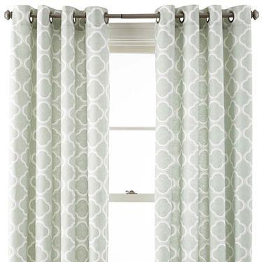 Elrene Medalia Grommet Top Curtain Panel