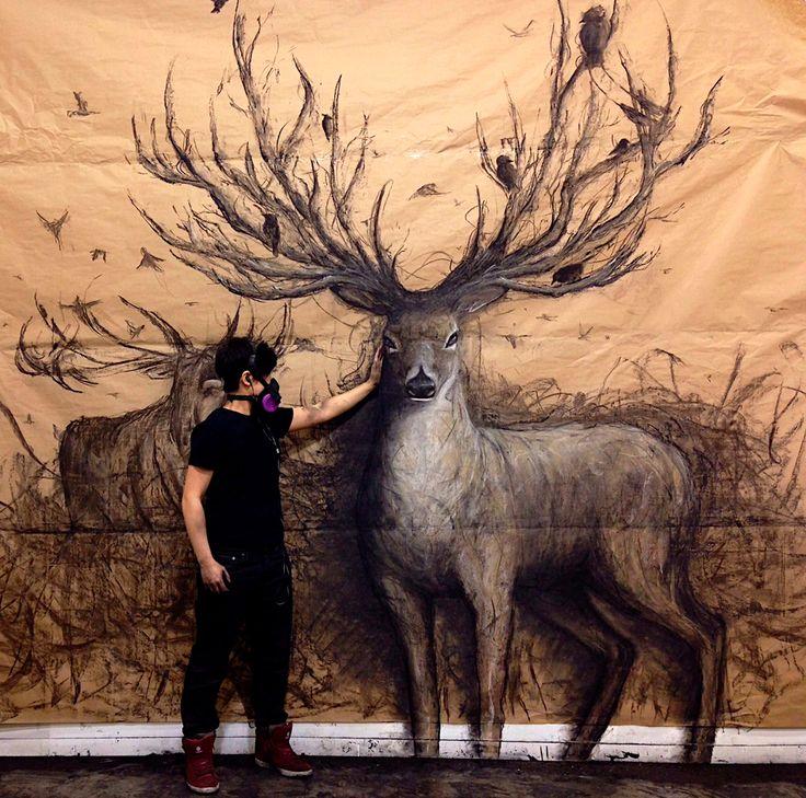 #SabíasQue Fiona Tang es un artista de Vancouver que crea grandes dibujos de ilusión óptica. ¿Qué opinas de su trabajo?    #Vancouver #Canadá #followme #instagood #great #diseño #discovery #amazing #Interesante #picture #Reva #Instalike #Great #Amazing #likeforlike #Instafollow #discovery #turismo #misterio