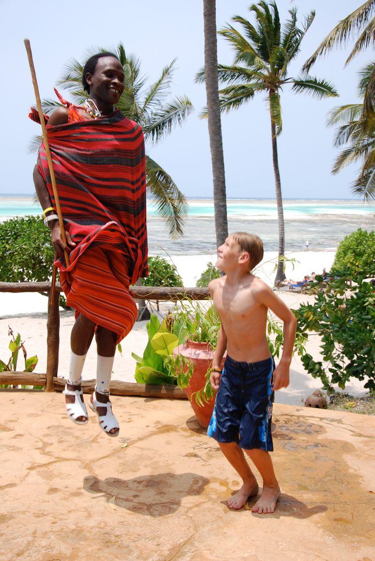 Zanzibar, Tanzania.  Travel with kids.