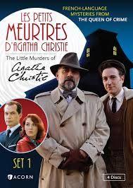 """Résultat de recherche d'images pour """"les petits meurtres d'Agatha Christie"""""""