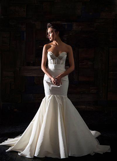 Plus Size Wedding Dresses Miami : Wedding dress trends deep v necklines via chernaya bridal house miami