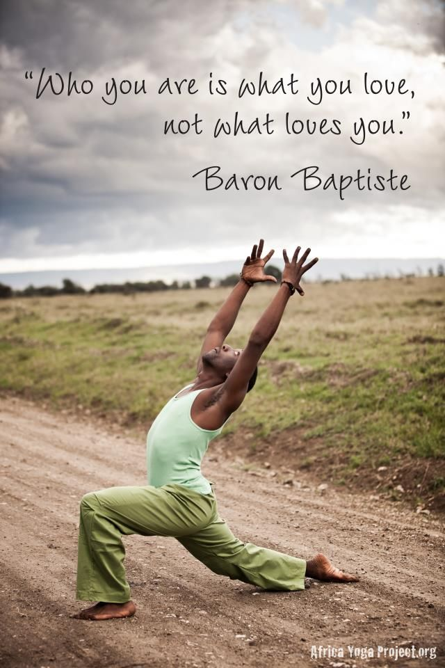 Baron Baptiste + Africa Yoga Project.