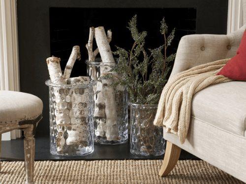 9 ideas for an unused fireplace | ellecwolfe.com