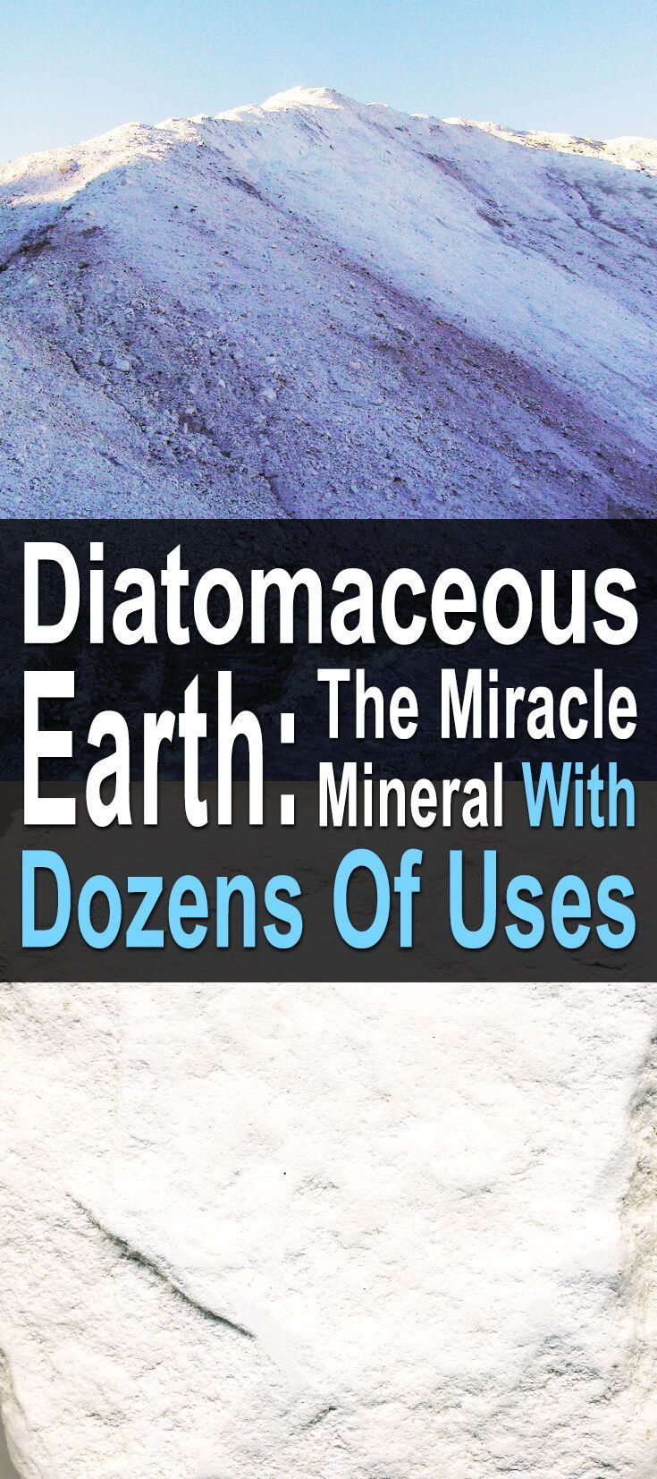 7 Surprising Uses For Diatomaceous Earth Skin care